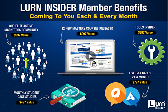 lurn insider membership benefits